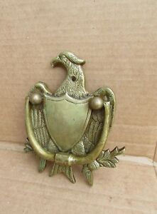 Vintage Antique Eagle Door Knocker Brass Bronze Nice One