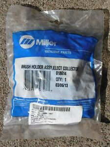 New Miller 018614 Brush Holder Assembly Elect Collector Complete W Free Ship