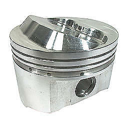 Srp Sbc 4 040 In Bore 350 Dome Forged Piston 8 Pc P n 140345
