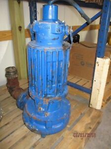 Goulds 4 Submersible Pump 811718j Cat 4ns62m4gfb Rpm 1750 460v 15hp Used