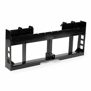 Titan Attachments Pallet Fork Frame 2 In Trailer Receiver Hitch Fits Skid Steer