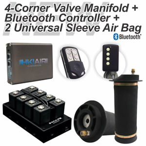 New 4 Corner Manifold Bluetooth Control Universal Air Bag Suspension Best Price