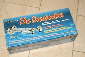 Wolo The Dominator Electric Horn 125 12 Volt Exterior Dual Trumpet
