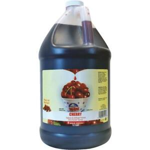 Gold Medal Prod Cherry Sno kone Syrup 1223 Pack Of 4