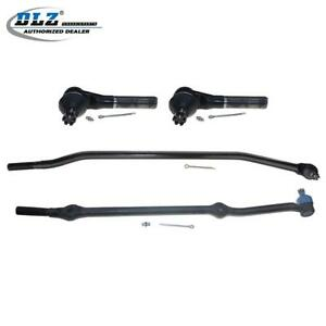 4 Tie Rod Ends Fit For 1993 1998 Jeep Grand Cherokee 5 2l V8 Models Only