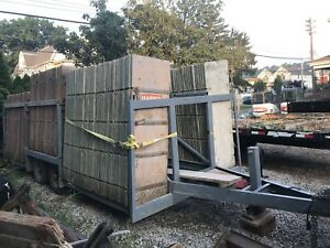 Concrete Foundation Forms Utility Trailer