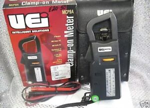 New Electrical Meter Clamp on 9 Ranges 600v ac 300a ac
