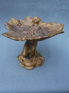 Jennings Brothers 353 Art Nouveau Tazza Calling Card Tray Stand Alfred Foretay