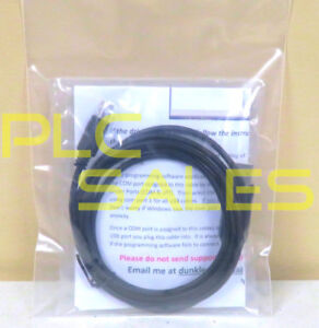 Allen Bradley 1761 cbl pm02 usb Usb Replacement Cable For Micrologix new