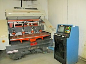 Excellon Mark V 4 Head Drilling Machine With Cnc 6 Control 110k Rpm Spindles