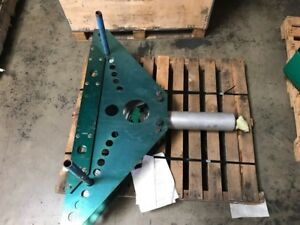 Greenlee 884 Bender And 960 Hydraulic Pump Set With Metal Case