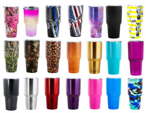 BonBon 30 Ounce Tumbler Stainless Steel Cup with Lid 21 Styles and Colors $14.98