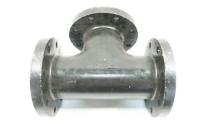 3 way Valve Body Flanged 4in Iron 125