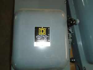 Square D 200 Amp Manual Transfer Switch Cat No 82254