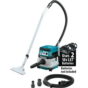 Makita Xcv08z 18v X2 Lxt 36v Brushless 2 1 Gallon Dry Vacuum With Aws