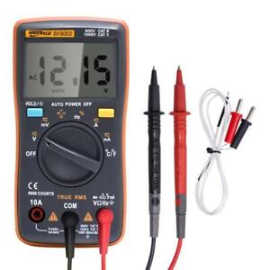 Voltmeter Digital Multimeter Portable Meter 6000 Counts Backlight Ac dc