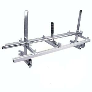 Portable Chainsaw Mill Attachment Planking Milling Bar Size 14 To 36 Wood