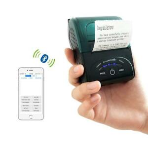 Thermal Receipt Printer Portable Personal Mobile Mini Wireless Bluetooth For