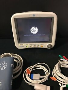 Ge Dash 4000 Multiparameter Patient Monitor With New Accessories And Warranty