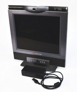 Polycom Vsx 3000 Ntsc Camera Ip Video 17 Conferencing System Monitor