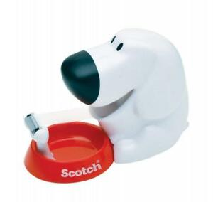 Scotch Dog Tape Dispenser With Magic Tape 3 4 X 350 Inches 1 Roll 1 c31 dog