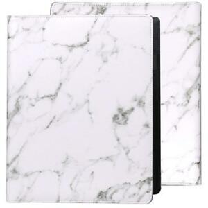 Z Plinrise Luxury Marble Portfolio File Folder Document Resume