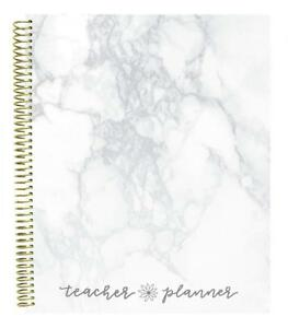 Bloom Daily Planners Undated Academic Year Teacher Planner Lesson Plan Book