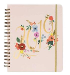 Bouquet Weekly 17 Month 2018 2019 Jumbo Spiral Planner With Stickers By