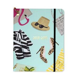 Kate Spade Large Academic Daily Planner 2018 2019 With Weekly Monthly Views