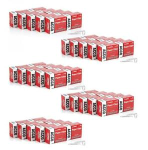 Acco Paper Clips Jumbo Smooth Economy 1 Case 50 Boxes case 100 box