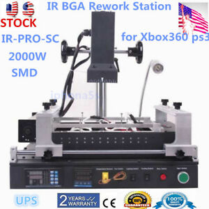 Ir pro sc Bga Ir Rework Station Reflow Reballing Repair Staion For Ps3 Xbox360