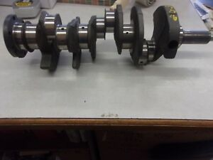 Engine Crankshaft 20329 Chevrolet Turned 020 Over Ready To Go