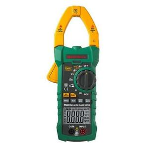 Mastech Ms2115a True Rms Digital Dc ac Clamp Lcd Meters Multimeter Amp Voltage