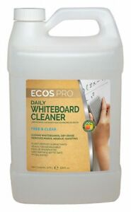 Dry Erase Board Cleaner Removes Ink Dirt From Dry Erase Markers 1 Gal