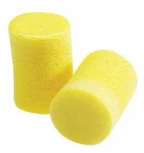 Aearo 29db Disposable Cylinder shape Ear Plugs Uncorded Yellow Universal