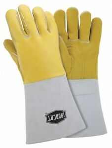 Ironcat Welding Gloves Stick 14 S Pr Gold 9060 s