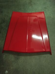 1964 1965 Dodge Plymouth 426 Race Hemi Hood Scoop New Tooling Nolded In Red