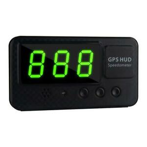 C60s Universal Gps Hud Speedometer Head Up Display Car With Over Speed Alarm