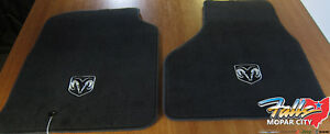 09 12 Dodge Ram 1500 3500 Regular Or Quad Cab Carpet Front Floor Mats Mopar Oem