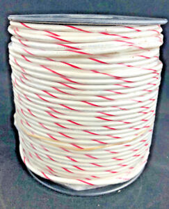Hook up Wire Ul 1015 10 Awg 105 Strands 600v Bare Copper Pvc White red