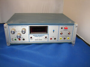 Bench Type Power Supply From Defunct Ee Lab Ac And Dc Supplies