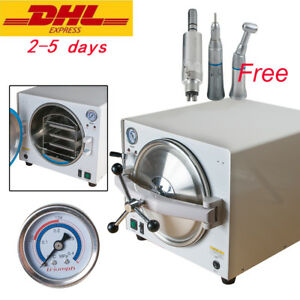 Ce Medical Lab Autoclave Steam Sterilizer Sterilization slow Speed Handpiece Set