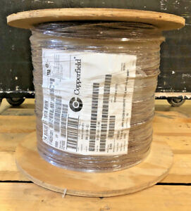 Hook up Wire Ul 1015 14 Awg Solid 600v Bare Copper Pvc Brown