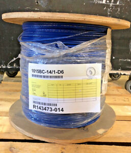 Hook up Wire Ul 1015 14 Awg Solid 600v Bare Copper Pvc Blue