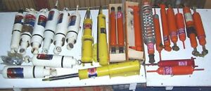 23 Assorted Nos Cure Ride And Gabriel Shocks Air Shocks Steering Stabilizers