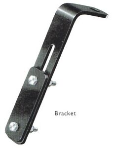 Lucas Fog Lamp Brackets Extremely Rare Left And Right For Xk120 Xk140 Xk150