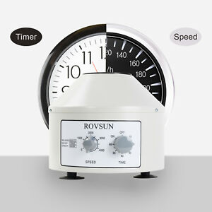 800 1d 4000rpm Electric Centrifuge Machine Laboratory Medical With Timer Speed