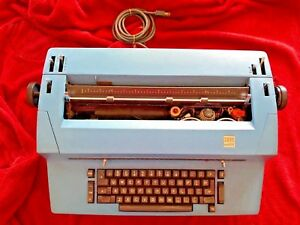 Ibm Selectric Ii 893 Correcting Typewriter Rare Vintage Tested Works