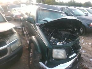 Pickup Box Bed Assembly Nissan Frontier 2000 Crew Cab Green Paint Code Dw6