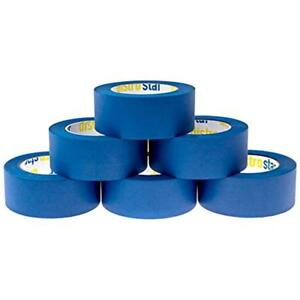 Painter s Tape Masking Blue 6 roll Contractor Pack 1 88 X 60yd Uv Protection 21
